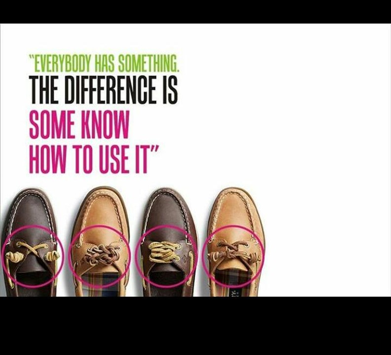 Everybody Has Something. The difference is Some Know How to Use it