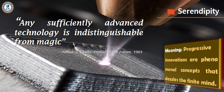 Any Sufficiently advanced technology is indistinguishable from magic~ Arthur C Clarke, profile of the future 1961