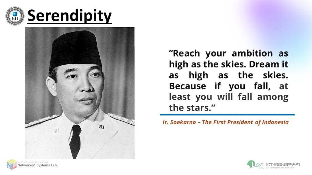 Quote by Ir. Soekarno, the First President of Indonesia