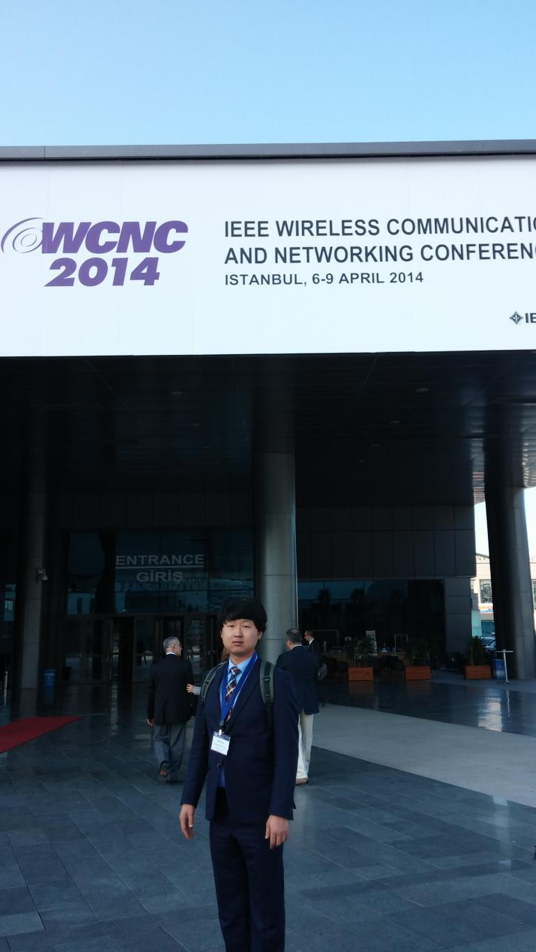 WCNC2014, IEEE Wireless Communications and Networking Conference, April 6-9, 2014, Istanbul, Turkey.