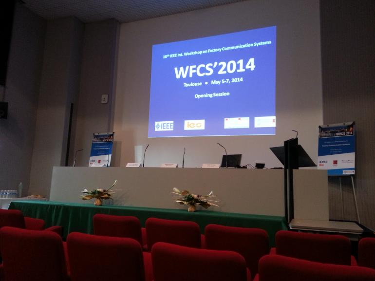 10th IEEE International Workshop on Factory Communication Systems (WFCS'14), Toulouse, France.