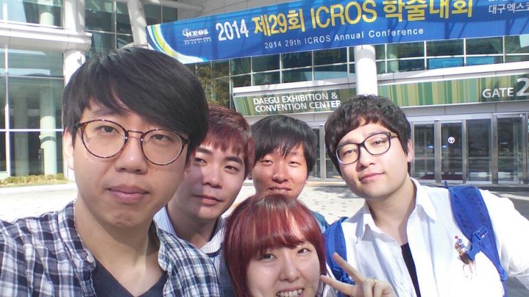 2014, Institute of Control, Robotics and Systems(ICROS) Conference, Exco, Deagu