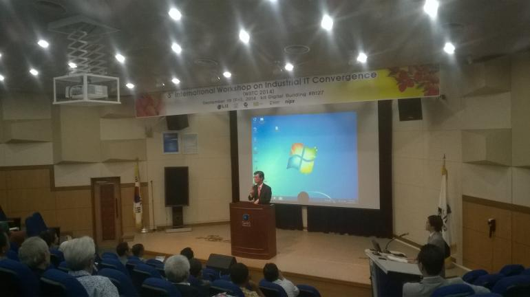 3rd International Workshop on Industrial IT Convergence in Kumoh National Institute of Technology