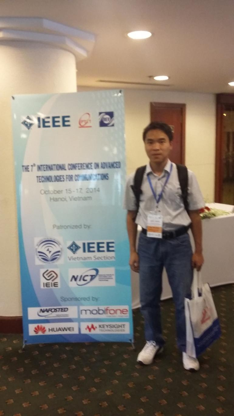 The International Conference on Advanced Technologies for Communications (ATC2014), Hanoi, Vietnam