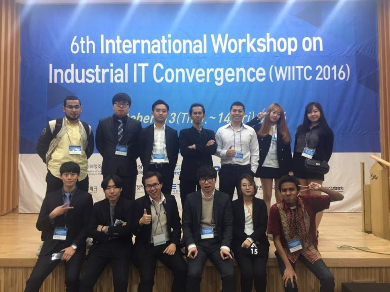 6th International Workshop on Industrial IT Convergence, 2016, Gimcheon, South Korea