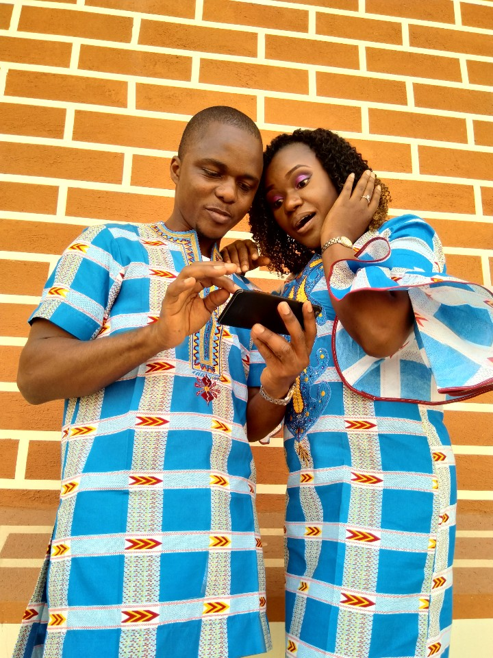 Igboanusi Ikechi Saviour's Wedding Picture :  NSL Alumnus sweet marriage