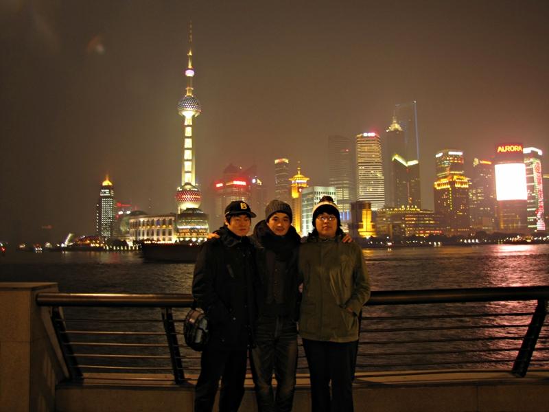 In Shanghai..
